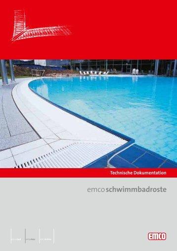 emcoschwimmbadroste - Emco Bautechnik GmbH & Co. KG