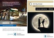 Nachtnetz-Fahrplan ab 09. Dezember 2012 - ZVV
