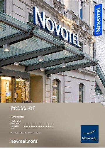 NOVOTEL PRESS Kit 2nd PART OF 2009