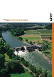 Anreise zum Wasserkraftwerk Aarberg - BKW
