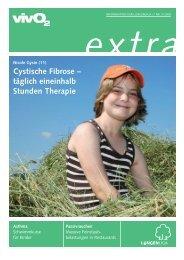 Cystische Fibrose – täglich eineinhalb Stunden Therapie