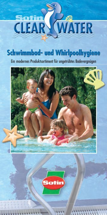 Schwimmbad- und Whirlpoolhygiene Schwimmbad- und ... - Sotin