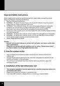 Your Poolcare Solution Instruction Manual La solution ... - Poolmaid - Page 6