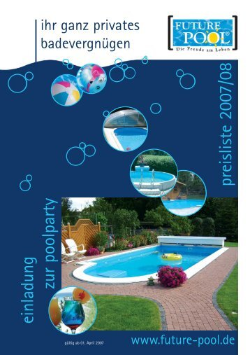 Wasserpflege - Future Pool