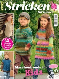 Sandra Sonderheft SA123: Stricken für Kinder