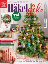 Meine Häkelwelt Sonderheft HAE049: Weihnachtliche Häkeldeko