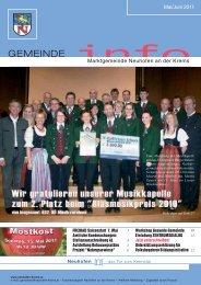 Zentrumsdialog 13. Mai 2011 Neuhofen 2020 Agenda 21