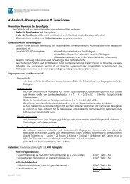 Hallenbad - Raumprogramm & Funktionen - TU Wien