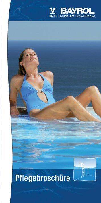 Pool BAYROL Pflegebroschüre