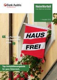 HeimVorteil - Bank Austria ImmobilienService