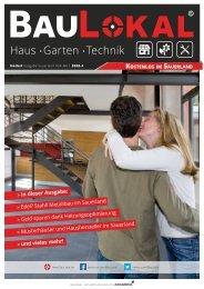 BauLokal Magazin Sauerland Haus, Garten, Technik Herbst 2020
