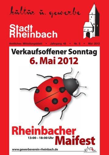 kultur und gewerbe - Rheinbach
