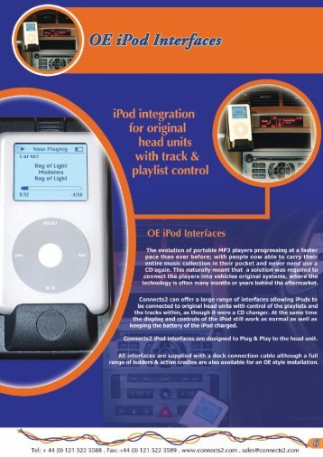 iPod Interfaces