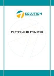 PORTIFÓLIO DE PROJETOS - Solution Engenharia