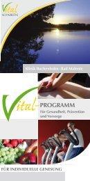 ProGramm - in den Vital-Kliniken