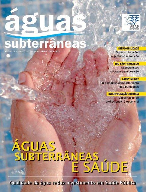 f5f3b7de7b Revista - Associação Brasileira de Águas Subterrâneas
