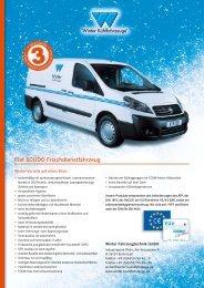 Fiat SCUDO Frischdienstfahrzeug