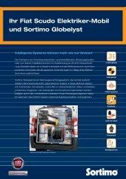 Ihr Fiat Scudo Elektriker-Mobil und Sortimo Globelyst