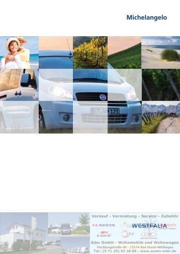Westfalia Kastenwagen Fiat Scudo Katalog ... - WoMo Eder