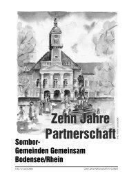 Zehn Jahre Partnerschaft - startseite sombor.ch