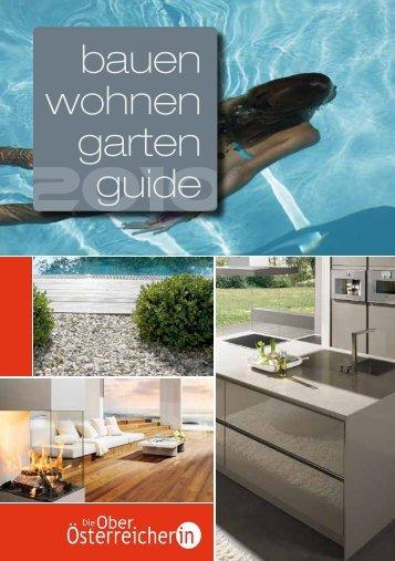 Bauen-Wohnen-Garten-Guide 2010.pdf - Die Oberösterreicherin