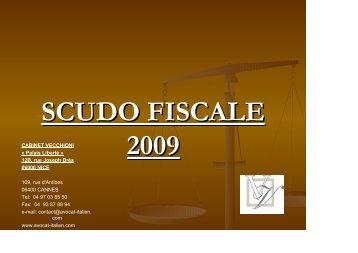 scudo fiscale 2009 - Avocat Italien