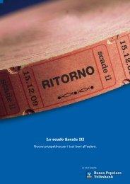 Lo scudo fiscale III - Banca Popolare dell'Alto Adige