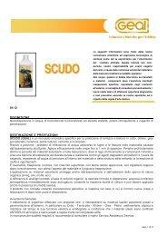 scheda tecnica scudo - Soluzione per impermeabilizzare il proprio ...