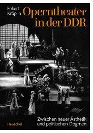 Leseprobe Operntheater in der DDR