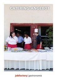 Catering Angebot | Jobfactory Gastronomie