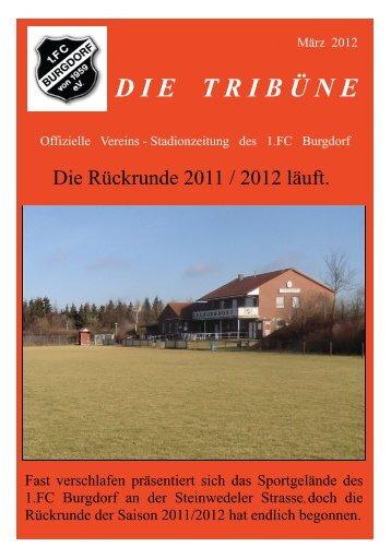 Spielplan I.Herren - 1.FC Burgdorf von 1959 eV