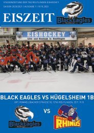 TSG Black Eagles vs. Hügelsheim 1b 18 10 2020