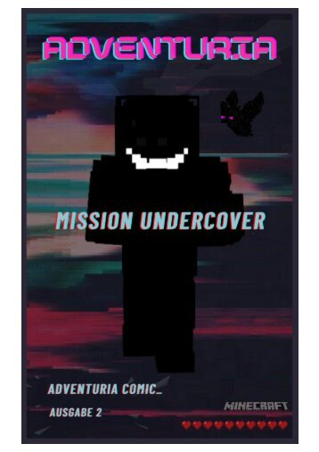 Comic #02 | Mission Undercover