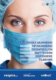 Respira smittevern, produktkatalog 10-2020