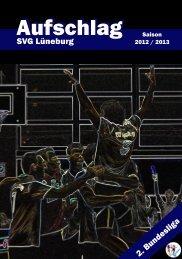 Saisonheft 2012-2013 - SVG Lüneburg