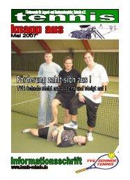 knapp aus - April 2007 - Turnverein Eintracht Sehnde von 1894 eV