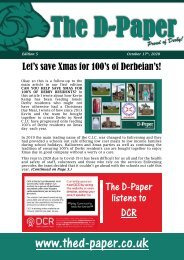 The D-Paper, 5th Edition, October 17th 2020