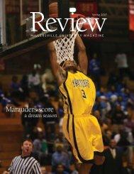 Marauders score - Millersville University