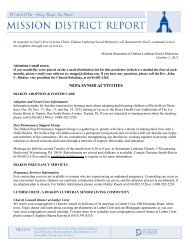NEPA SYNOD ACTIVITIES - Diakon Lutheran Social Ministries