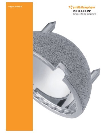 REFLECTION Spiked Acetabular Components ... - Smith & Nephew