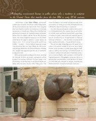 ebratSwedish-born sculptor Kent Ullberg's ... - Boody Fine Arts