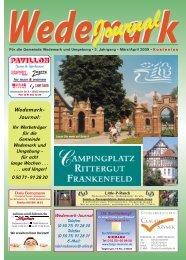 Wedemark Journal und Kulturjournal190
