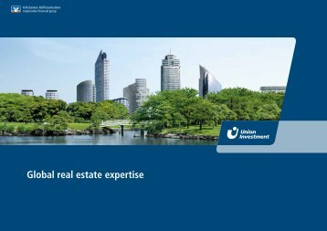 Global real estate expertise - Union Investment