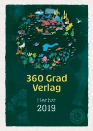 + + + Neue Bücher des 360 GRAD VERLAG im Herbst 2019 + + + New Titels in Autum 2019  + + +