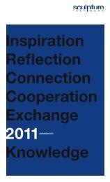 Jahresbericht 2011 - sculpture network