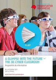 the 3d cyber classroom - Frankfurter Buchmesse