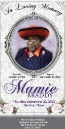 Carrie Sanders Memorial Program