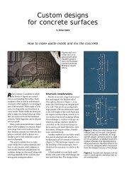 Custom Designs for Concrete Surfaces.pdf - Concrete Construction