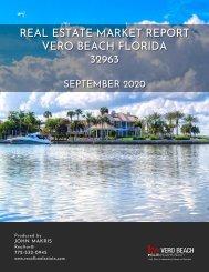 Vero Beach 32963 Real Estate Market Report September 2020