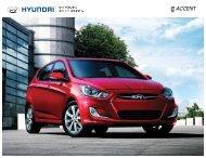 ACCENT - Hyundai Auto Canada